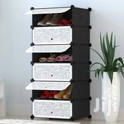 1 Column 8 Tiers Plastic Shoe Racks | Furniture for sale in Central Region, Kampala