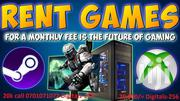 RENT A GAME | Video Game Consoles for sale in Central Region, Kampala