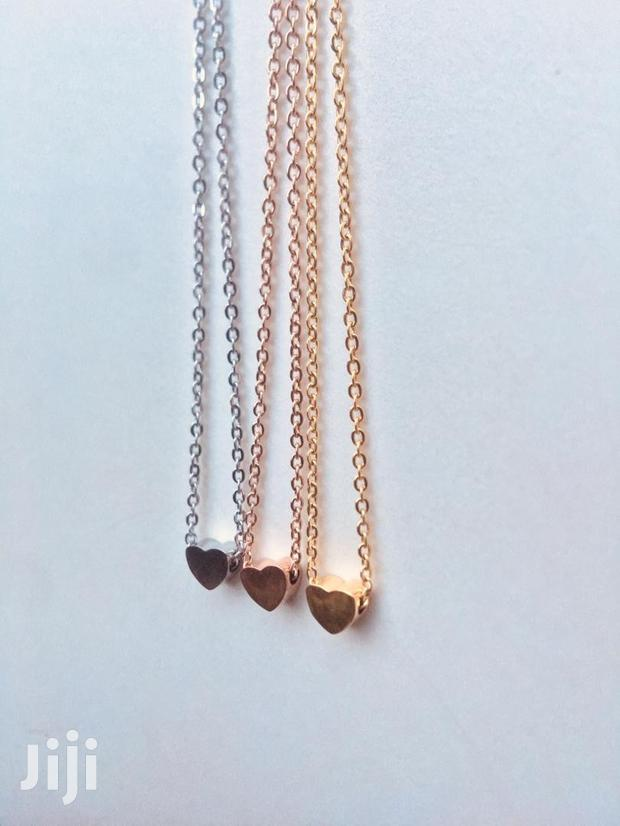 Archive: Stainless Steel Elegant Heart Necklaces .