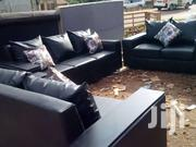 7seated Box Leather   Furniture for sale in Central Region, Kampala
