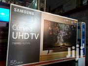 Samsung 55 Inches Curve Smart 4K Digital TV | TV & DVD Equipment for sale in Central Region, Kampala