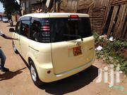 Toyota Sienta 2003 Yellow   Cars for sale in Central Region, Kampala