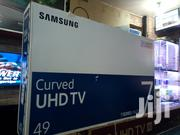 Samsung 49 Smart Curve Uhd(4K) Digital TV | TV & DVD Equipment for sale in Central Region, Kampala