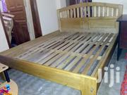 5 by 6 Bed and Mattress Durable With Light Weight in Entebbe | Furniture for sale in Central Region, Kampala