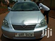 Toyota Allex 2003 Silver   Cars for sale in Central Region, Kampala