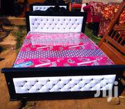Simple Bed 5 by 6 Eith Mattress | Furniture for sale in Central Region, Kampala