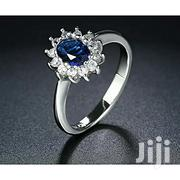 Brand New! Princess Diana Engagement Ring - Silver, Blue 8 Size | Jewelry for sale in Central Region, Kampala