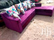 L Shaped Chair Purple | Furniture for sale in Central Region, Kampala