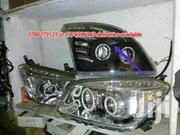 Fj120 Landcruiser Headlamp With Angle  Lights | Vehicle Parts & Accessories for sale in Central Region, Kampala