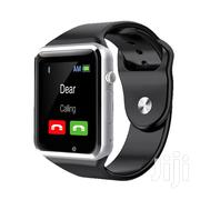A-Series Touchscreen Bluetooth Smartwatch Simcard Support | Smart Watches & Trackers for sale in Central Region, Kampala