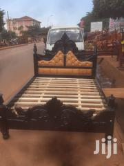 5by6 Pinned Lathered Bed | Furniture for sale in Central Region, Kampala