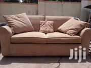 Cream Soft Couch With Cushions | Furniture for sale in Central Region, Kampala