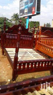Poland 5 by 6 Bed Made With Long Stands | Furniture for sale in Central Region, Kampala