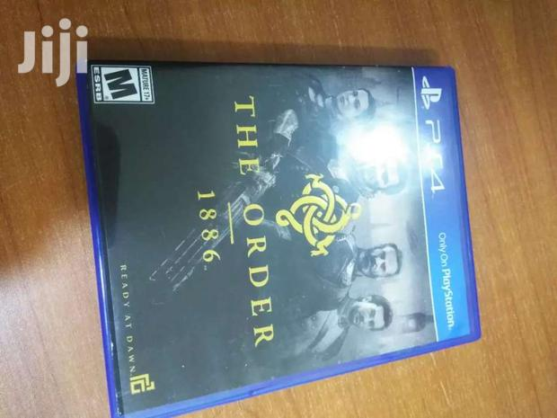 Archive: The Order Ps4