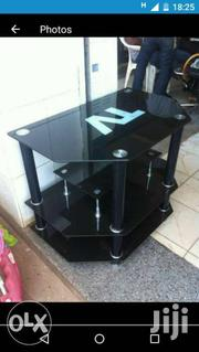 Glass Black Tv Stand | Furniture for sale in Western Region, Kisoro