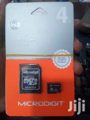 Original 4GB Memory Card + Adapter | Accessories for Mobile Phones & Tablets for sale in Central Region, Kampala