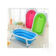 Baby Folding Bathtub / Baby Basin - Green | Children's Gear & Safety for sale in Central Region, Kampala
