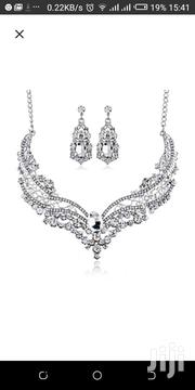Bridal Alloy Crystal Necklace | Jewelry for sale in Central Region, Kampala