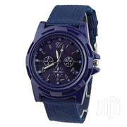 Canvasbelt Soldier Watch -blue | Watches for sale in Central Region, Kampala
