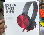 Extra Bass MDR Headphones With Mic | Accessories for Mobile Phones & Tablets for sale in Central Region, Kampala