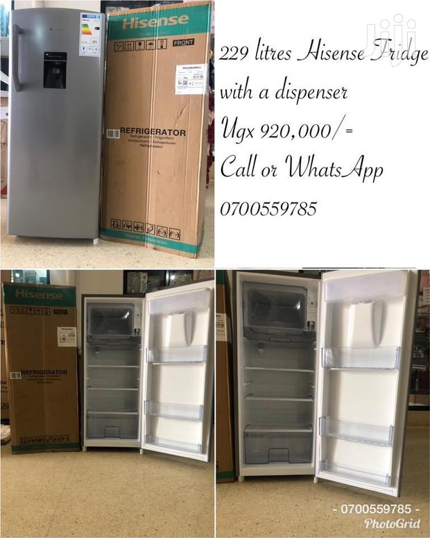 229 Litres With Water Dispenser