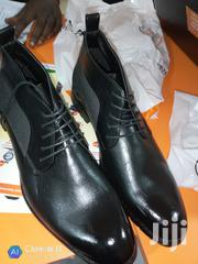 Men's ANKLE Boot Black | Shoes for sale in Central Region, Kampala
