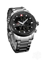 Dual Naviforce Silver Watcy | Watches for sale in Central Region, Kampala