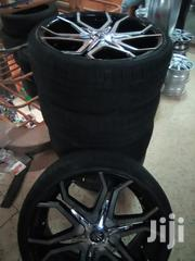 A Set Of Rims And Tires For Harrier, Lexus, Fuga, Skyline, Kluger Etc | Vehicle Parts & Accessories for sale in Central Region, Kampala