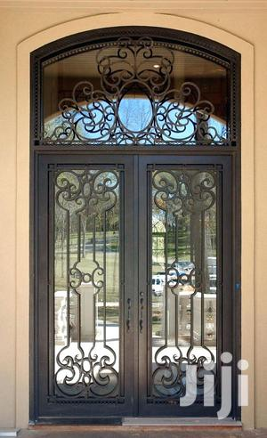 Y020819 Wrought Iron Doors A
