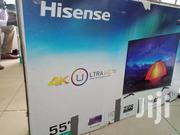 Brand New Boxed Hisense 55inches Smart UHD 4k TV   TV & DVD Equipment for sale in Central Region, Kampala