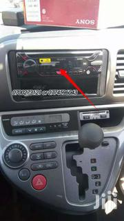 SONY RADIO FITTED IN A WISH TOYOTA | Vehicle Parts & Accessories for sale in Central Region, Kampala