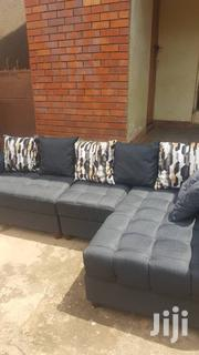 L Shape Sofa With Designed Seats For Order | Furniture for sale in Central Region, Kampala