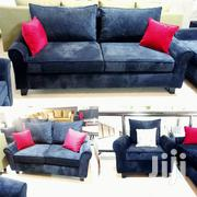 6 Seater Couch, Black in Colour | Furniture for sale in Central Region, Kampala