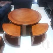Brown Center Table With Stools | Furniture for sale in Central Region, Kampala