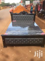 Grey Lathered 5*6 Bed   Furniture for sale in Central Region, Kampala