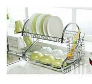 Get Your Dishes Organised Using the Stainless Steel 2 Layer Dish Rack | Kitchen & Dining for sale in Central Region, Kampala