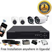 CCTV Camera Full Set + Free Installation | Building & Trades Services for sale in Central Region, Kampala