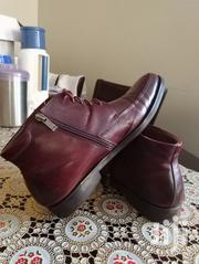 Brown Formal And Casual Leather Used Boots On Sale. Size 9 Or 43 | Shoes for sale in Central Region, Kampala