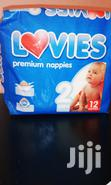 South African Made Lovies Premium Nappies (2kg to 6kgs) | Baby Care for sale in Kampala, Central Region, Nigeria
