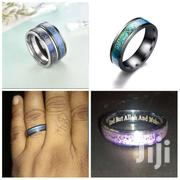 Muslim Islam Halal Ring Thermochromic Titanium Steel Ring | Watches for sale in Central Region, Kampala