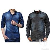 Men's Denim Casual Shirts, | Clothing for sale in Central Region, Kampala