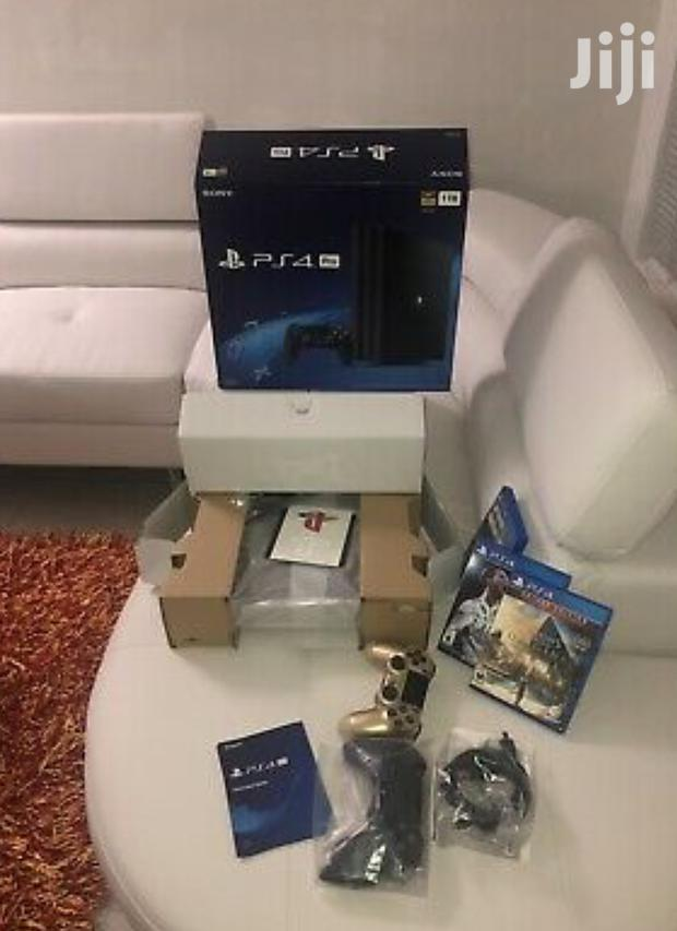 Archive: Brand New Play Station 4pro 1tb Black Colour