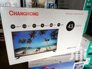43 Inch Smart Android Changhong LED Digital Tvs   TV & DVD Equipment for sale in Central Region, Kampala