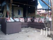 7seated Sofa Mart Brown | Furniture for sale in Central Region, Kampala