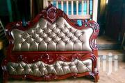 King Size Lathered Bed | Furniture for sale in Central Region, Kampala