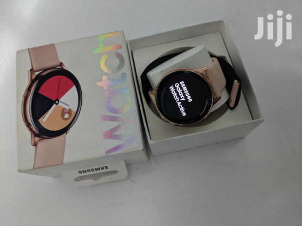 Archive: Samsung Watch Active