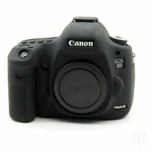 Soft Silicone Rubber Case Cover For Canon EOS 5D III 5D Mark III