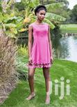 Knee Dress With Net Detail From Turkey | Clothing for sale in Kampala, Central Region, Nigeria