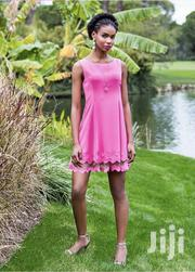 Knee Dress With Net Detail From Turkey | Clothing for sale in Central Region, Kampala