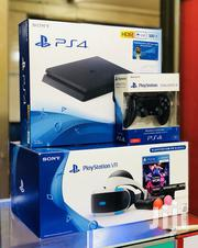 Ps4 Slim Virtual Reality Bundle With 2 Wireless Pads And Full Vr Kit | Video Game Consoles for sale in Central Region, Kampala